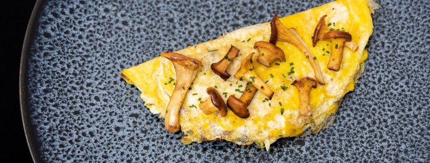 Omelette mit Pilze